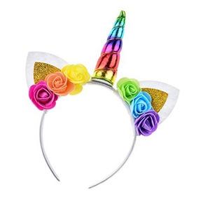 Diadema De Flores Cosplay Para Fiesta De Unicornio Daisyu
