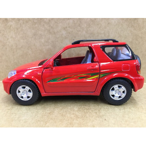 Miniatura Toyota Rav 4 Vermelha