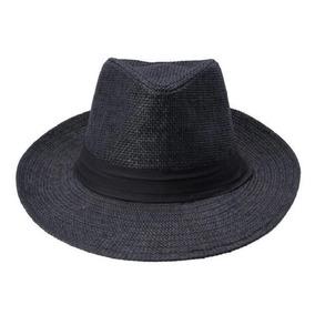 Chapéu Aba Larga Masculino Preto - Acessórios da Moda no Mercado ... 359c75fd7c2