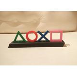Adorno Logo Playstation Figuras - Coleccionable