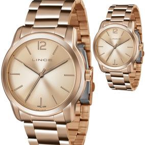 28d70e6ab77 Relogios Femininos Lince Grande - Relógios De Pulso no Mercado Livre ...