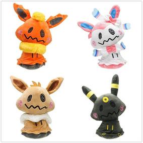 One Set Of 4pcs - Pokemon Peluche Juguetes Mimikyu Cosp-2756