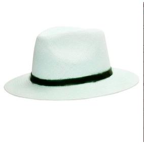 Chapeu Branco Em Fibra Sintetica - Acessórios da Moda no Mercado ... 8e3ded7106e