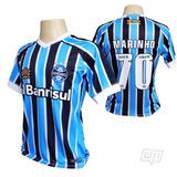 7239f533d6 Camisa Gremio Azul Marinho no Mercado Livre Brasil