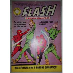 Gibi Flash N° 1 Dimensão K Editora Brasil América 1967