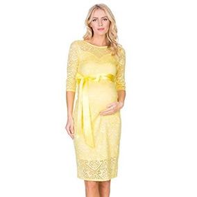 4047577f0 Vestido Largo De Fiesta Sears Otros Largos Mujer - Vestidos Amarillo en  Baja California en Mercado Libre México