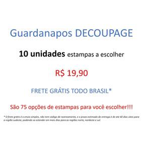 Guardanapo Decoupage