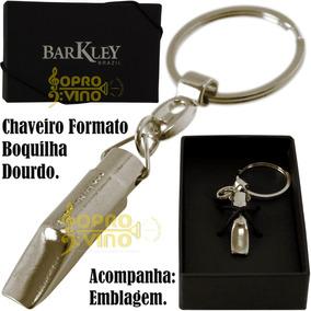 Chaveiro Boquilha Metal Cromado Barkley