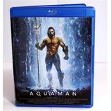 Blu-ray Do Filme Aquaman - 2018 - Dublado E Legendado