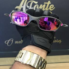 17104d0301ef0 Juliet 24k C  Lente Roxa Polarizada - Óculos De Sol no Mercado Livre ...