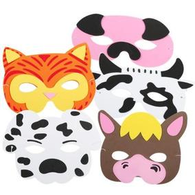 Mascaras De Animales Mascara De Animales De Granja En Mercado