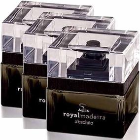 03 Perfumes Royal Madeira Absoluto 3x75ml Original