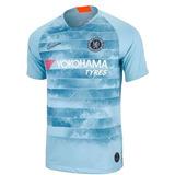 fe8de90b6c Camisa Chelsea Third Azul Claro 2018-19 ( Pronta Entrega )