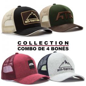 Combo Collection 4 Bonés All Terrain Atr Original Cnb4 fa84e4758e6