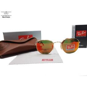 Oculos Rayban Hexagonal Lente Vermelha - Óculos no Mercado Livre Brasil 609c7d7158
