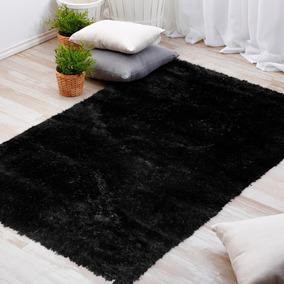 Alfombra Bengala Negro 120x170 Cm