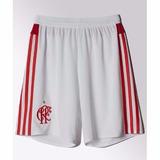 0b168cbd39 Calção Shorts Flamengo adidas Branco E Vermelho 2016