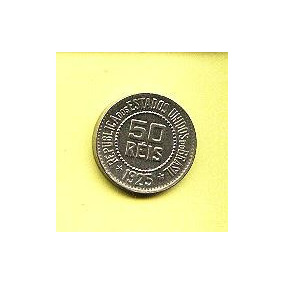 V 068-moeda 50 Réis 1925 Cupro-níquel República