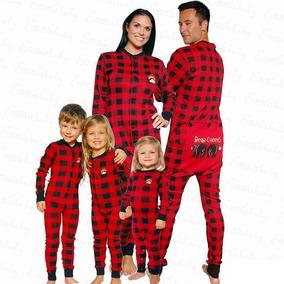 Pijama Mameluco One Piece Navidad Bebés Y Niños
