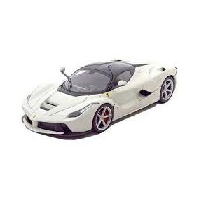 Ferrari La Ferrari Burago 1/18 Branco 16001-branco