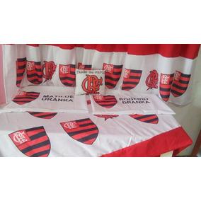 Cortina Flamengo Jogo De Quarto Casal Flamengo 9952d6d6366de