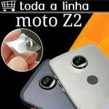 1 Película Vidro Traseiro Da Lente Câmera Moto Z2 E Z2 Play