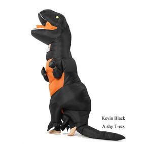 Disfraz Inflable Dinosaurio Jurassic World Naranja Goprime