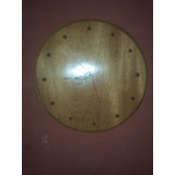 Wood Wall Clock Reloj De Madera De Pared