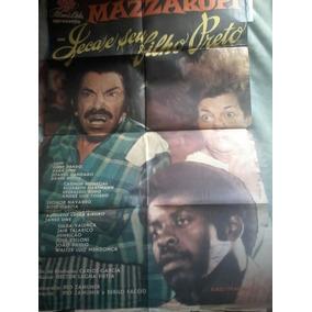 Cartaz De Cinema Antigo Mazzaropi E Seu Filho Preto