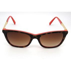Óculos De Sol Ana Hickmann Ah9225 Quadrado Marrom Tartaruga. R  417 6c54962be8