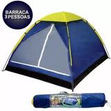 Barraca 3 Pessoas Iglu Camping Mor Cinza C/sacola Transporte