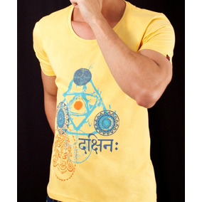 Camisa Masculina - Hyndu - Amarelo Aurum