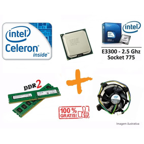 Processador Intel Celeron Dual Core E3300 2.5ghz +ram/cooler
