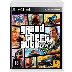 Grand Theft Auto V Gta 5 Ps3 / Midia Fisica / Lacrado + Mapa