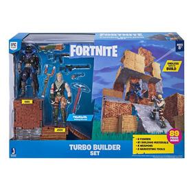 Raven & Jonesy De 10cm Turbo Builder Set Fortnite Epic Games