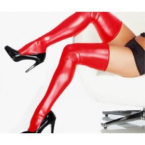 Lencería Sexy Vinipiel Medias Bondage Erótismo Cómodas Moda