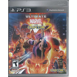 Ultimate Marvel Vs. Capcom 3 Para Play Station 3 Disco Físi