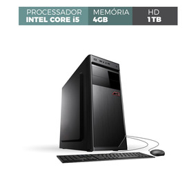 Computador Intel Core I5 4gb Ddr3 1tb Teclado E Mouse