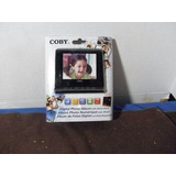 Portaretrato Digital Coby Negro 3.5pulg Con Alarma Reloj New