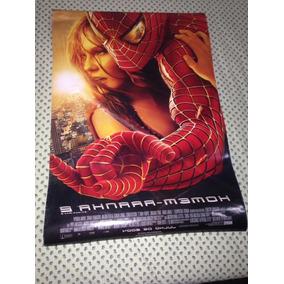 Homem Aranha Poster Spiderman 2 Oficial Filme Ler Tudo R$170