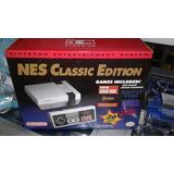 Nintendo Nes Classic Edition Versión China Con 30 Juegos