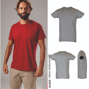 Molde Camiseta Básica Masculina Adulto Peça Piloto Aprovada