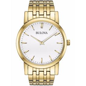 Relógio Bulova Social Masculino - Wb21669h