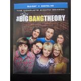 The Big Bang Theory Temporada 8 Original En Bluray