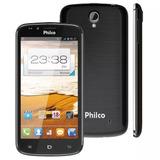Smartphone Philco Phone 530 Preto Com Dual Chip, Tela 5.3