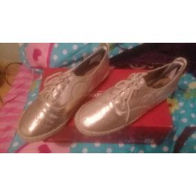 Zapatos Metálicos Rose Gold