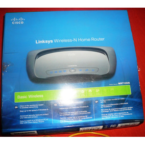 Router Linksys Cisco Modelo Wrt 120n
