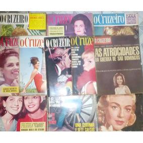 Lote Revistas O Cruzeiro - Anos 60 / 70