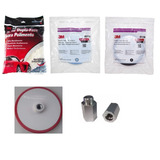 Kit 3 Boinas Original 3m + Adaptador 5 8 Ou 14mm 79eeffaea39