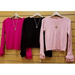 Sweeter Mujer Con Volados - Sweaters en Mercado Libre Argentina 3b830726b887